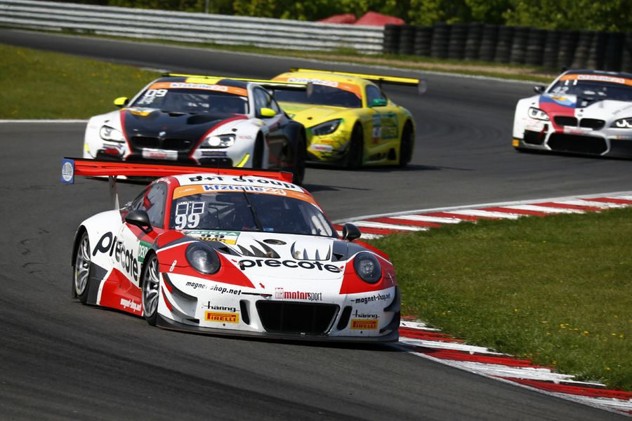Third place puts Porsche 911 GT3 R at the top of ADAC GT Masters standings