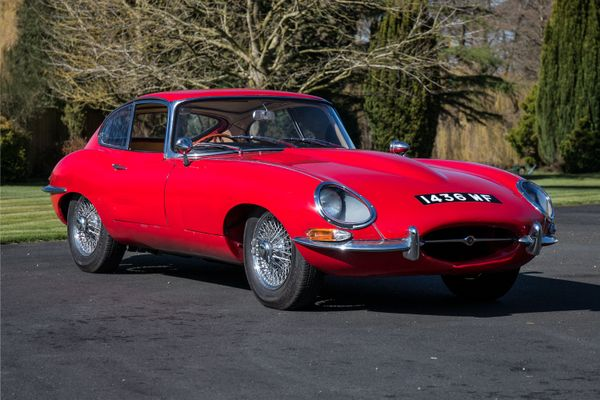 100th Jaguar E-Type 3.8 Coupe going to Silverstone Auctions' May Sale