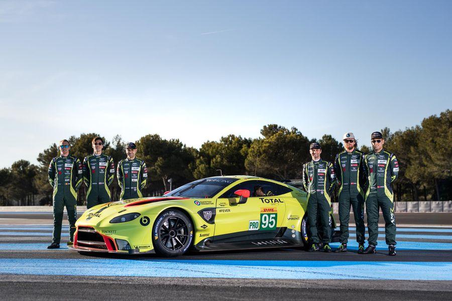 Aston Martin Vantage Gte To Make Its Racing Debut At Spa Wec News