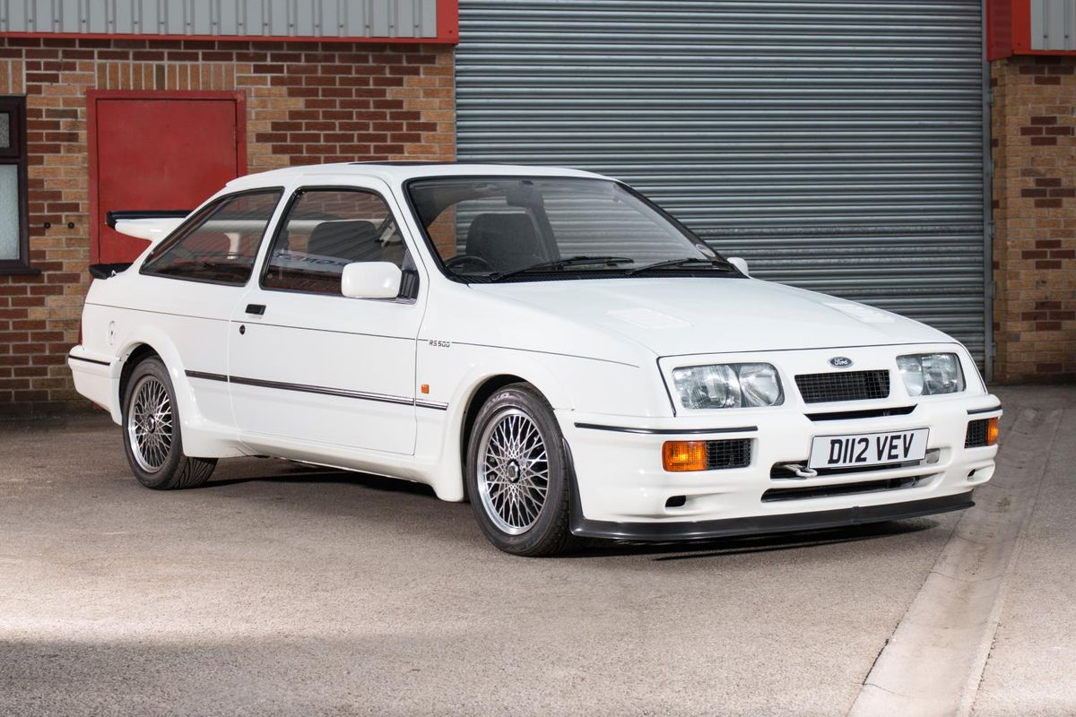 Ford Sierra Cosworth RS500 chassis number one for sale with Silverstone Auctions