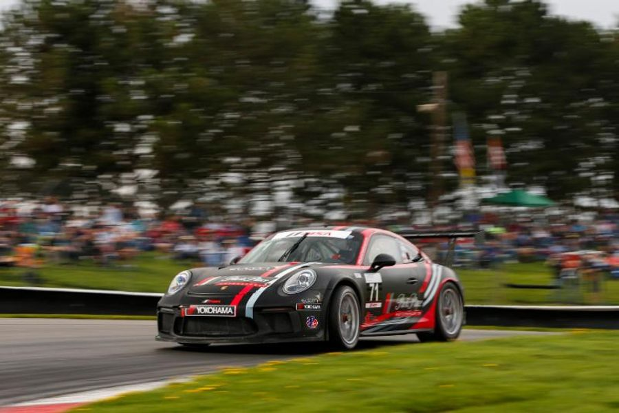 Kolkmann Takes Second Porsche GT3 Cup Challenge USA Win in Three Races