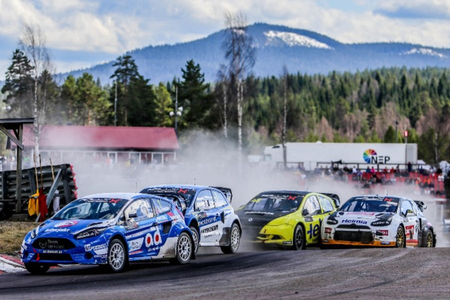 Reigning champion Thomas Bryntesson wins opening round of new-look RallyX Nordic