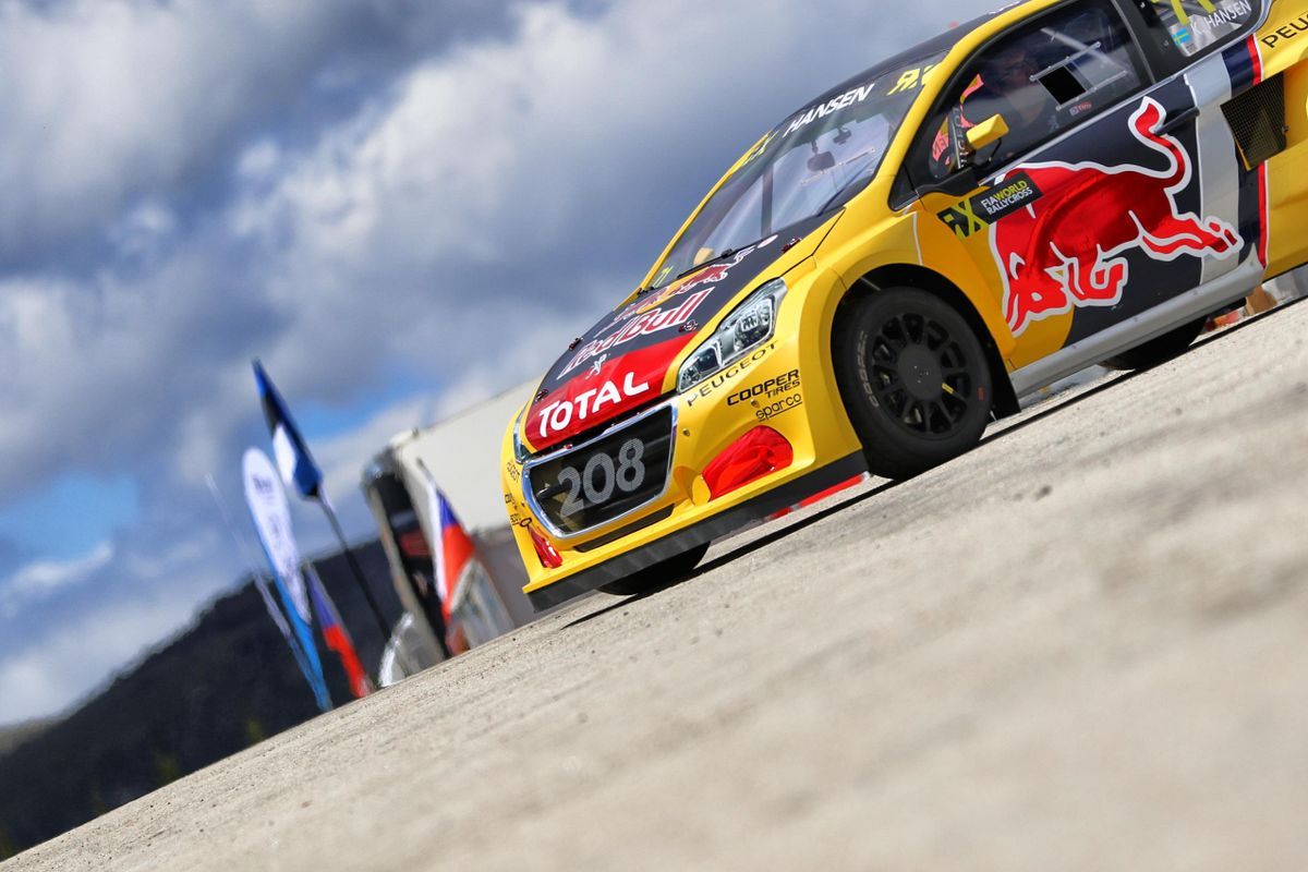Peugeot 208 WRX ready for Belgian RX