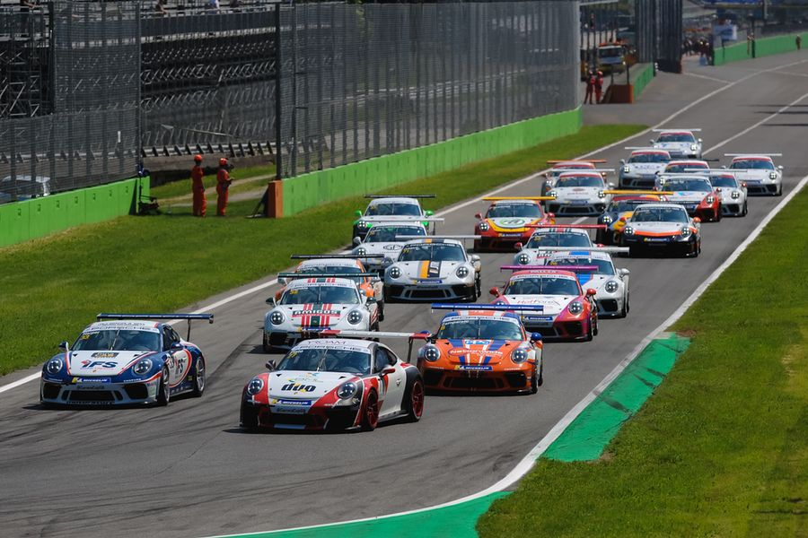 Magical Monza thrills with wins for Zamparelli and Gamble