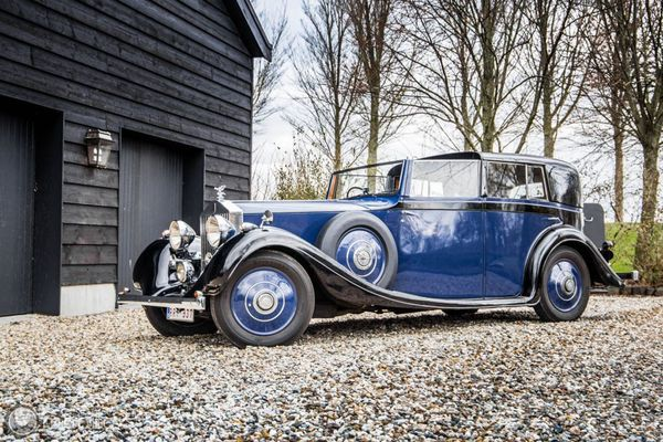 1937 Rolls-royce 25/30 Sedanca De Ville by Gurney Nutting to cross the block at COYS