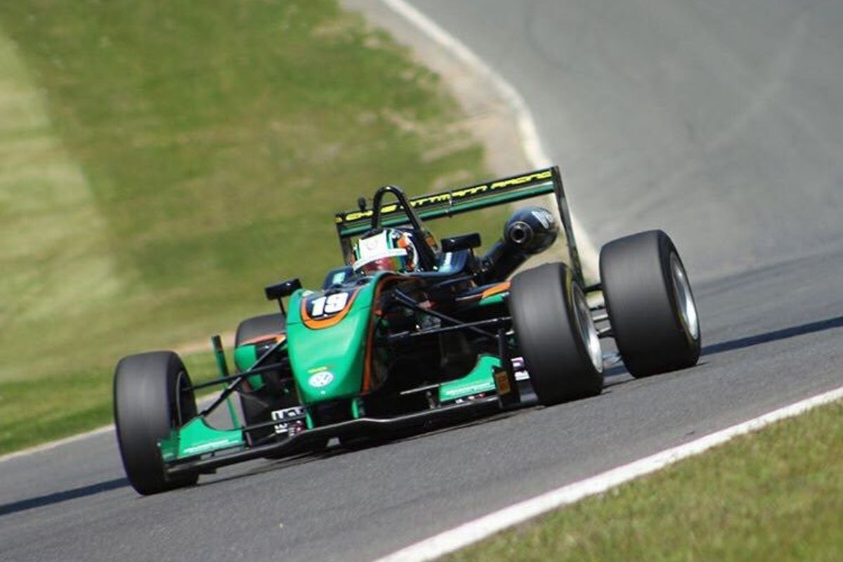 Cian Carey takes first F3 Cup win of season and a podium for Chris Dittmann Racing