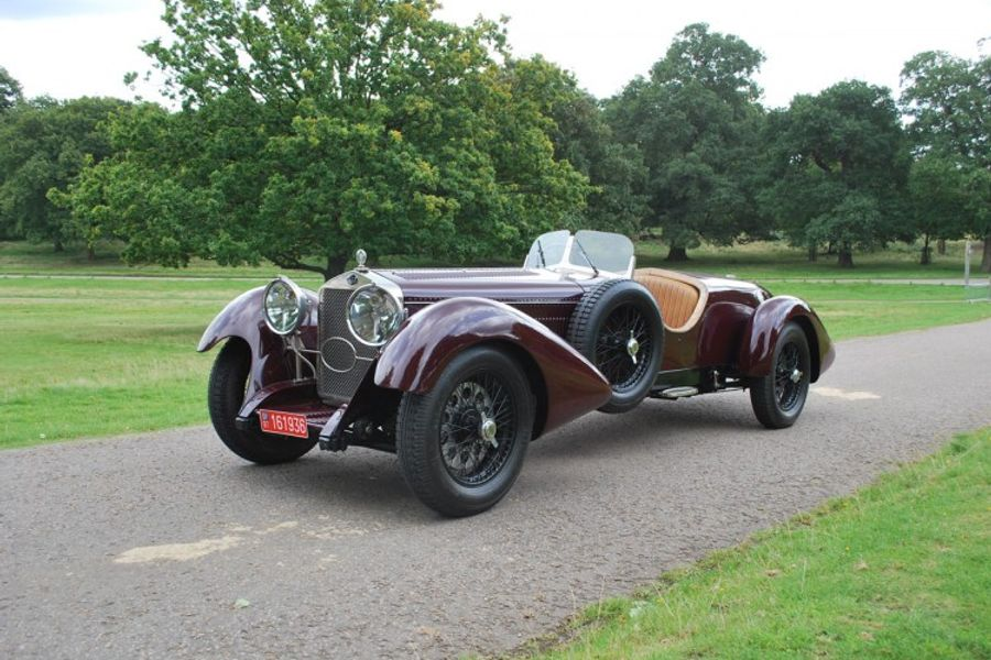 1929 Delage D6 on offer at COYS' Chiswick House Auction