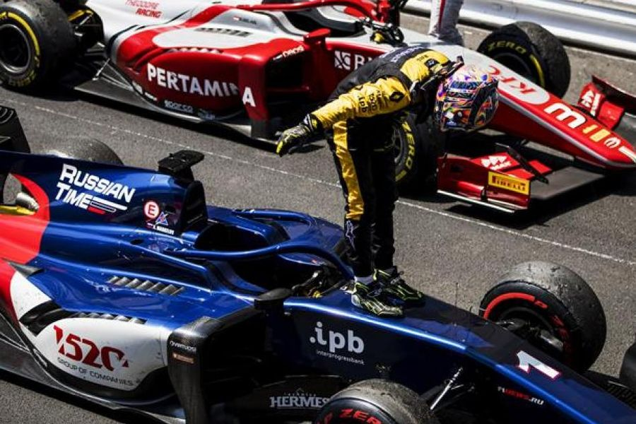 Markelov produces imperious drive to win Monaco F2 Feature Race