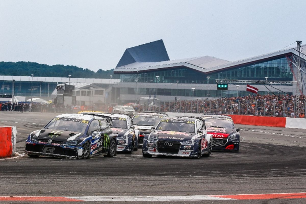 Johan Kristoffersson extends Drivers' Championship lead with World RX of Great Britain victory