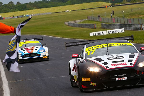 TF Sport and Aston Martin double up at Snetterton British GT
