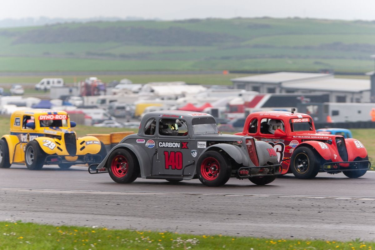 Legends American newcomer O'Brien stars at Anglesey with a doube win