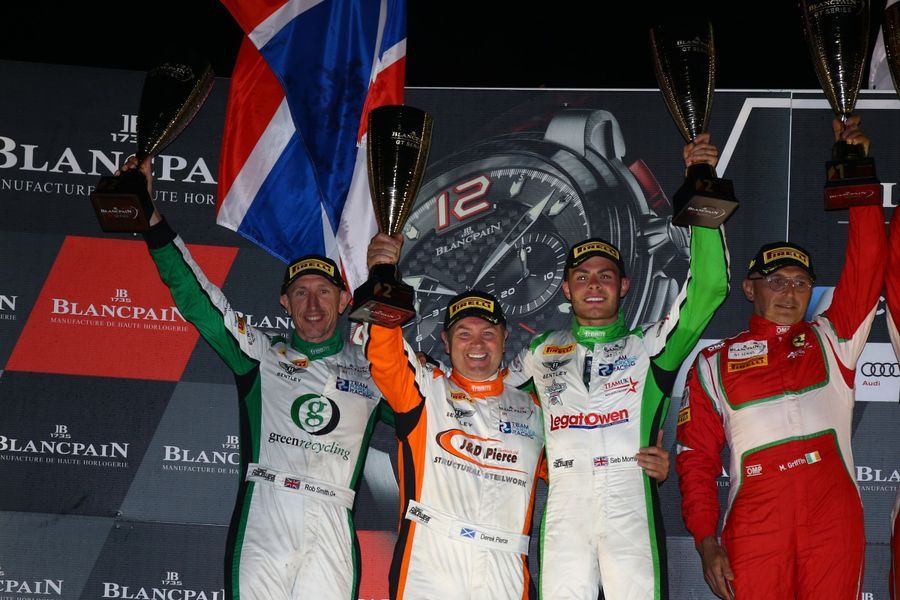 Seb Morris Back On Blancpain Pro-Am Podium With Paul Ricard Six-Hr P2