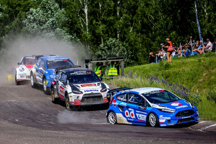 Solberg Scorches to RallyX Nordic Victory in Arvika