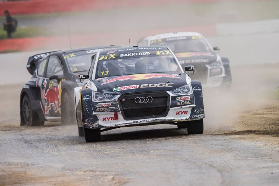 Rallycross home round for Audi driver Bakkerud