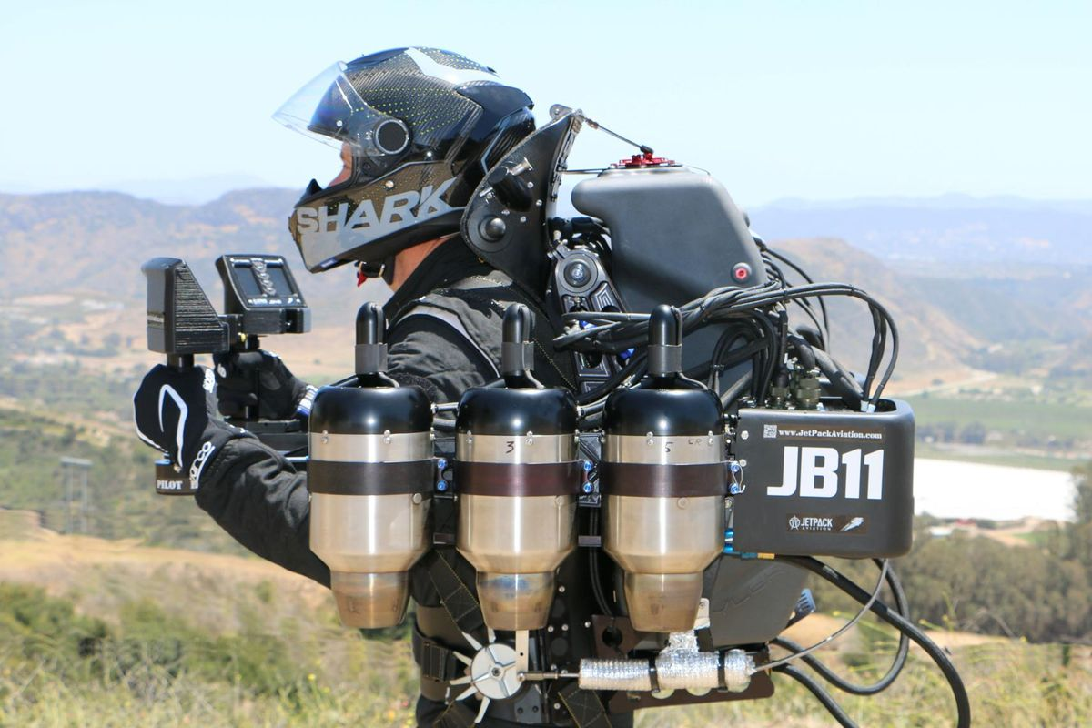 200mph JB11 JetPack to make European flight debut at Goodwood Festival of Speed