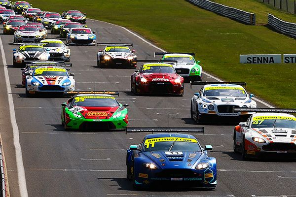 Season-high 36 cars set for British GT's blue riband Silverstone 500