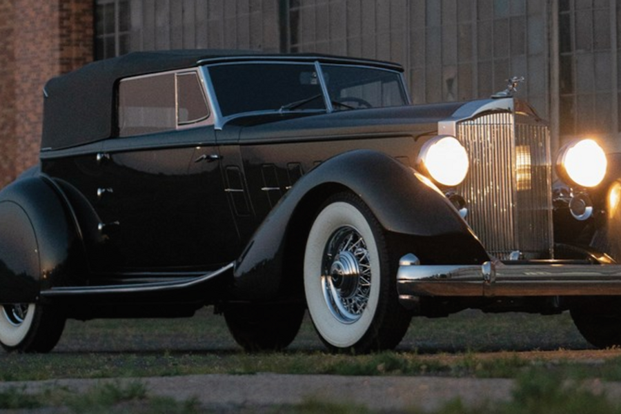 Best of Show 2013 Pebble Beach Concours d'Elegance 1934 Packard on offer at RM Sotheby's