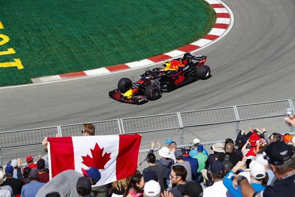 Max Verstappen quickest in the first practice session for Canadian Grand Prix