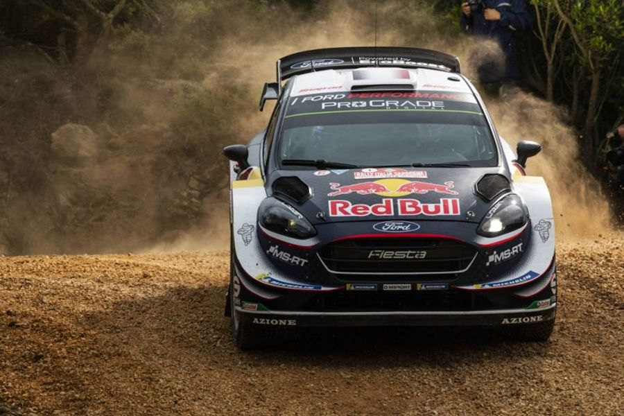 Sébastien Ogier leads Rally Italia Sardegna after a dramatic opening leg