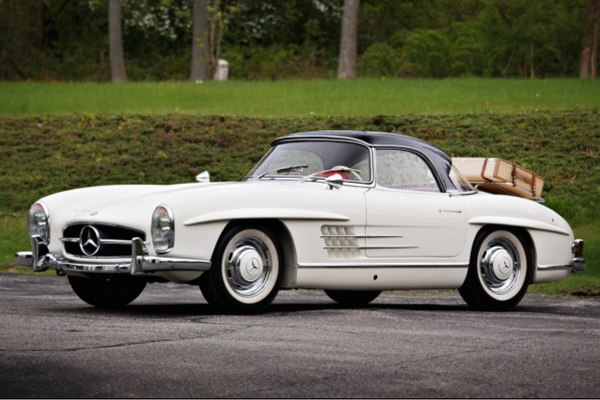 Highly Original, Late-Production 300 SL Roadster at The Pebble Beach Auctions