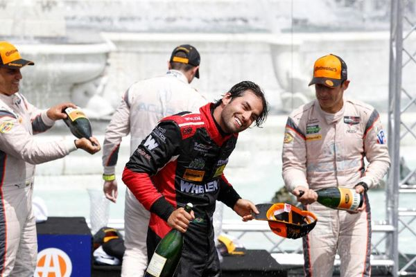 Nasr Riding Momentum of First IMSA Win to Le Mans Debut