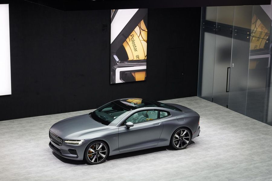 Polestar 1 to make dynamic public debut at Goodwood Festival of Speed