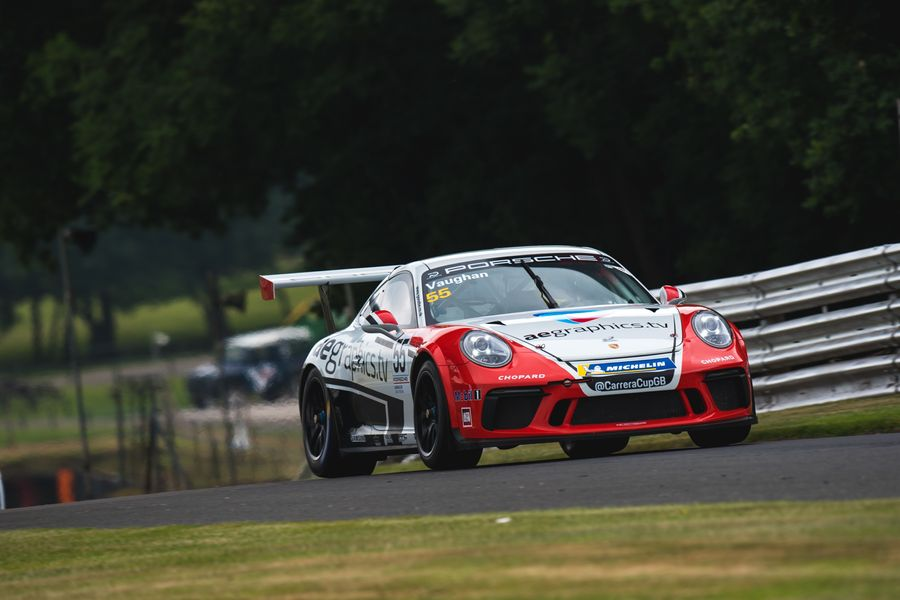 Podium and Class win for Motorbase Performance at Oulton Park Carrera Cup