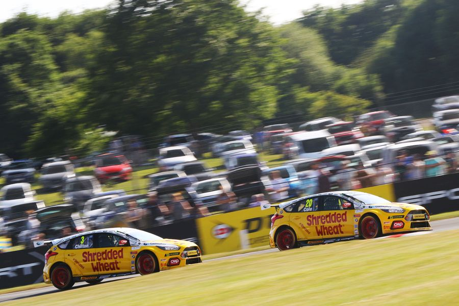 Double BTCC podium delight for Team Shredded Wheat Racing at Oulton Park