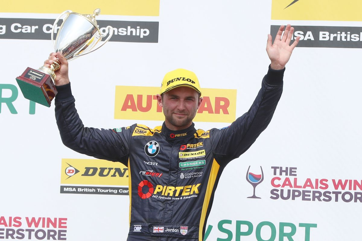 Two trips to the podium bring Andrew Jordan back into contention for BTCC title
