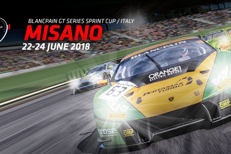 Sprint Cup battle resumes as Blancpain GT Series heads for Misano