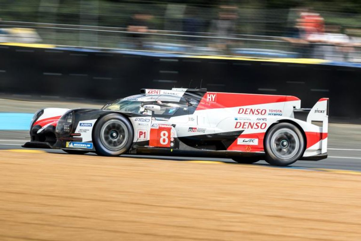 Toyota leads opening day of track action at Le Mans