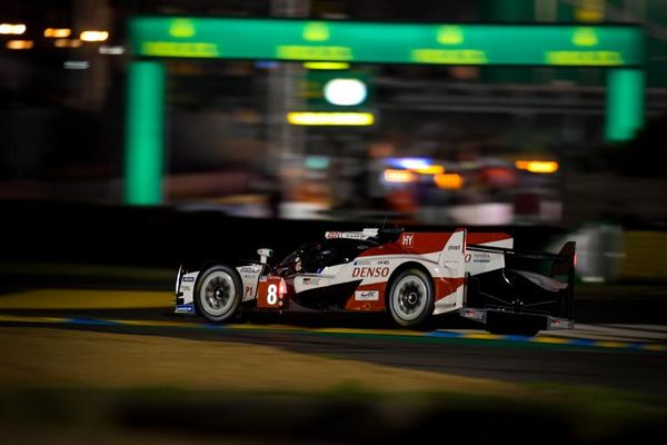 Toyota takes pole position at the 2018 24 Hours of Le Mans