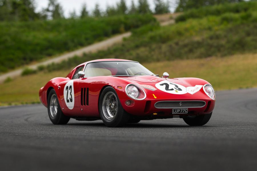 The Holy Grail: highly original, numbers-matching 1962 Ferrari 250 GTO