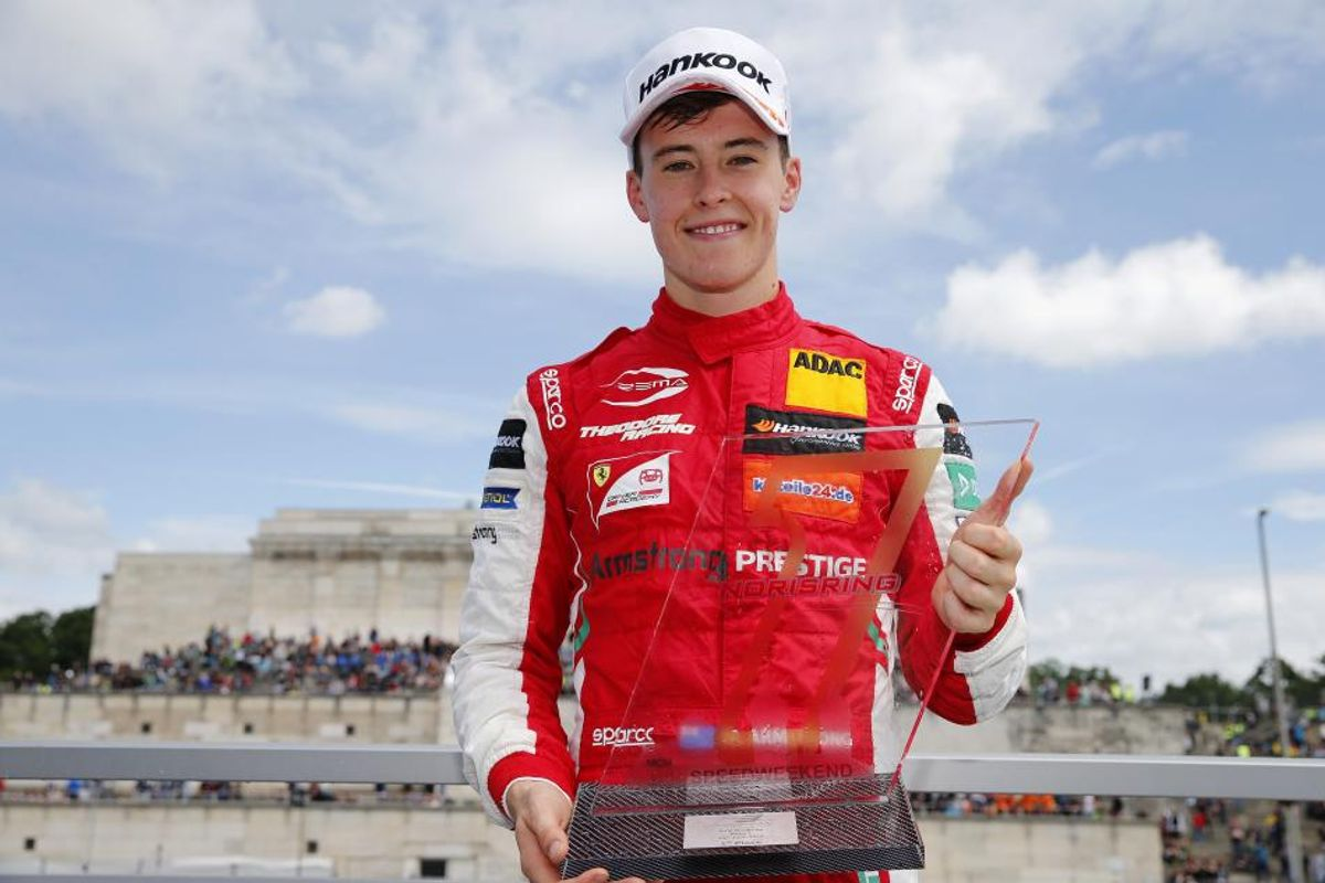 F3: Rookie Marcus Armstrong wins at the Norisring