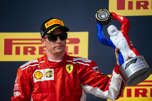 French GP: An accident at the start, duels on track and a well  delivered a third for Kimi