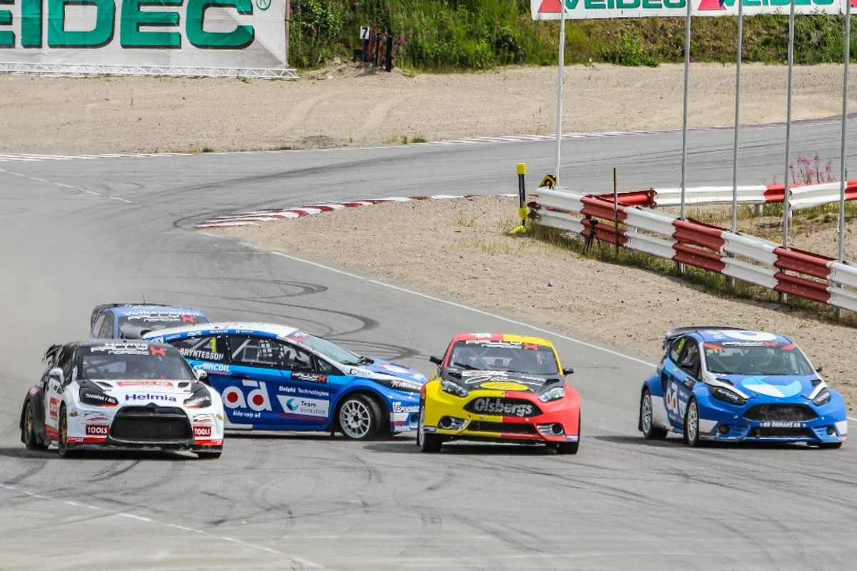 Super Solberg Sweeps to Dominant RallyX Nordic Victory in Grenland