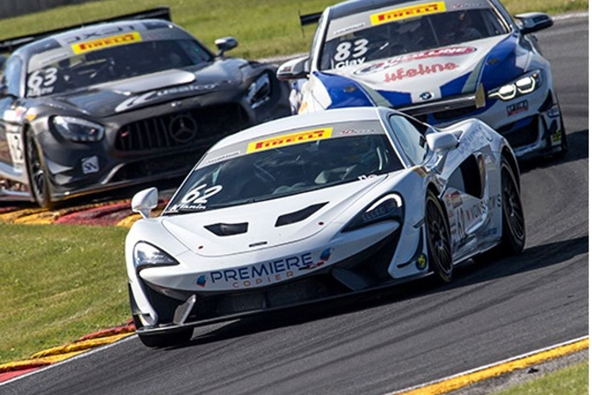 Wins on two continents for McLaren 570S GT4 AS