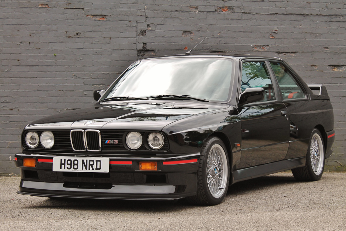1990 BMW E30 M3 Sport Evolution among touring car titans at Silverstone Classic Sale