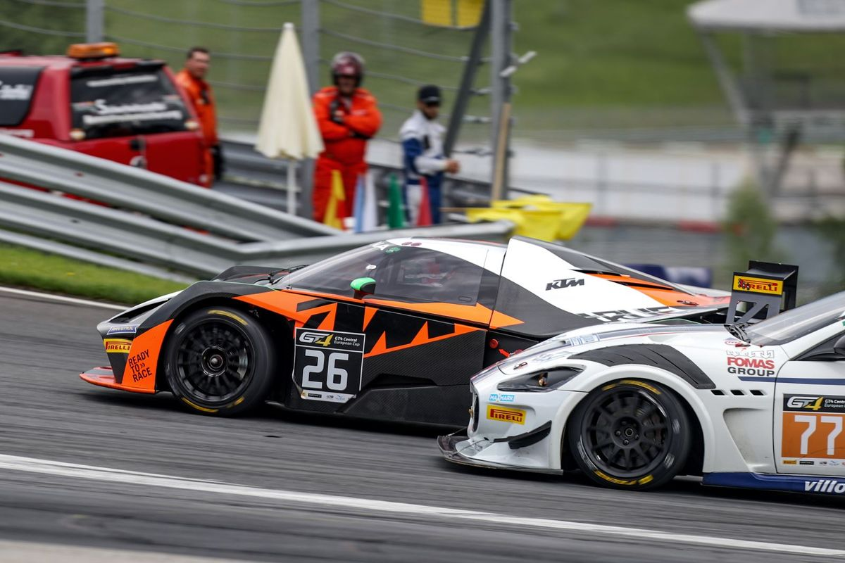 GT4 Central European Cup reaches halfway point with Nürburgring record crowd