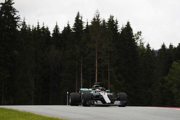 Mercedes set the pace in Austrian GP practice