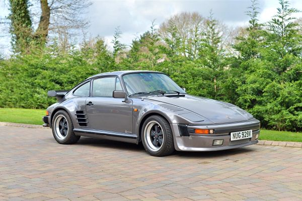 Porsche 930 Turbo Flatnose at Barons' Summer Classic Auction