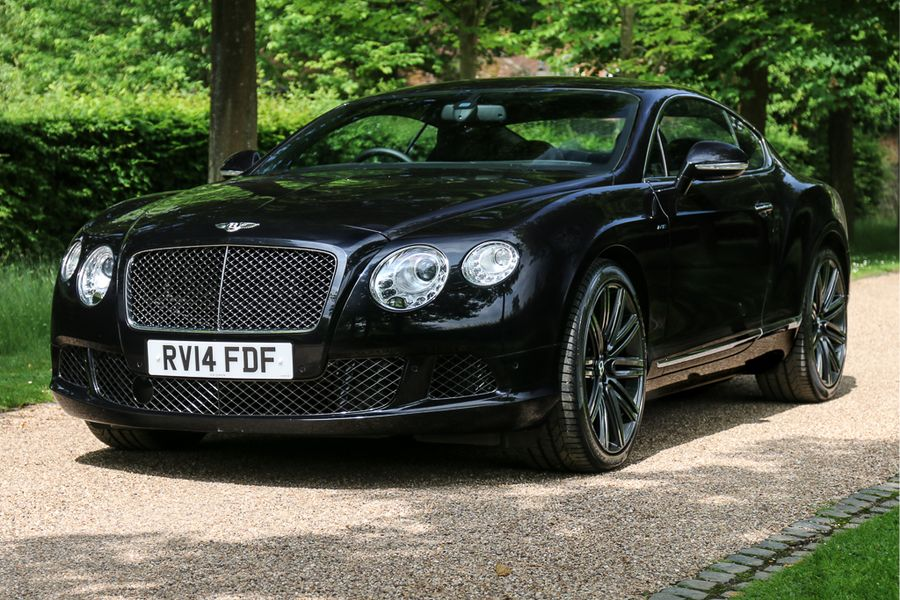 Elton John's Bentley Continental GT Speed on its way to Silverstone Classic Auction