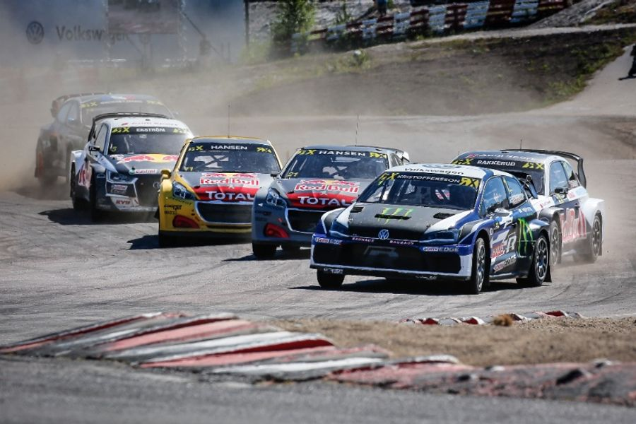 Johan Kristoffersson claims fifth win of 2018 at Holjes RX
