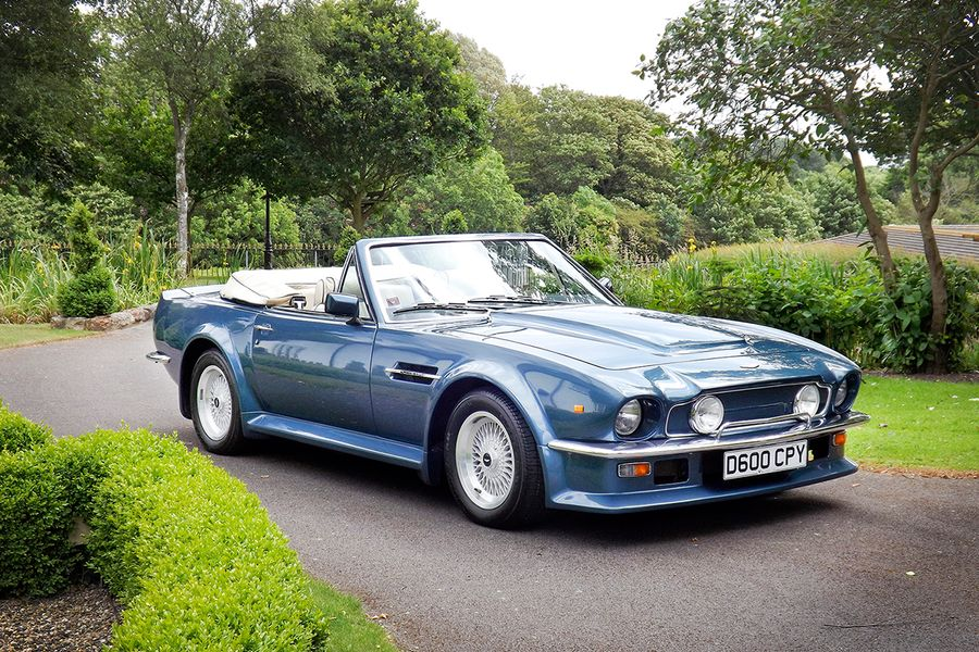 Rare 1987 Aston Martin Vantage Volante X-Pack heads to auction at Silverstone Classic