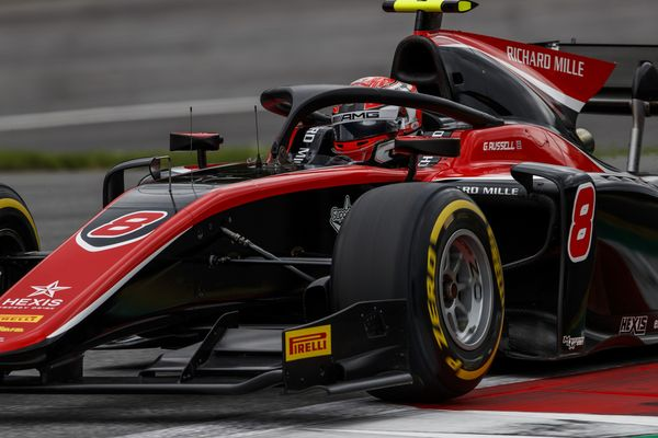 F2 with hard and soft tyres at Silverstone, hard for GP3