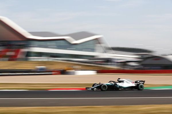 Hamilton quickest in British Grand Prix FP1