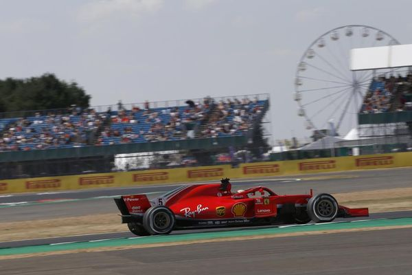 Vettel on top of British GP FP2