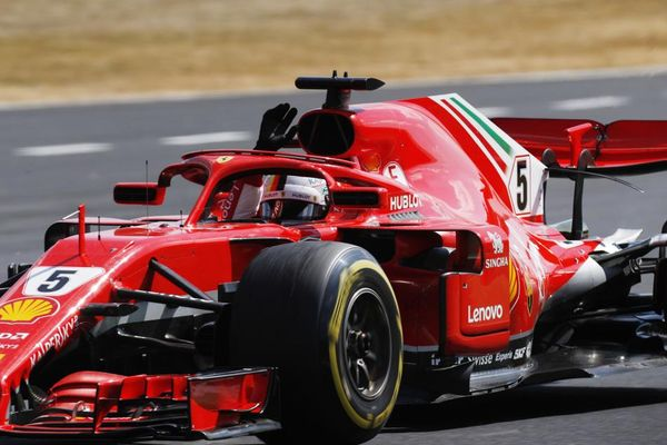 Vettel wins British Grand Prix ahead of Hamilton and Raikkonen