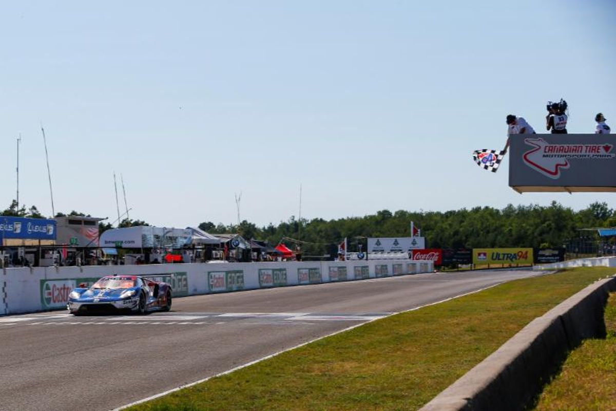 Perfect Pit Stop Sends Ford GT of Briscoe, Westbrook to Victory at CTMP