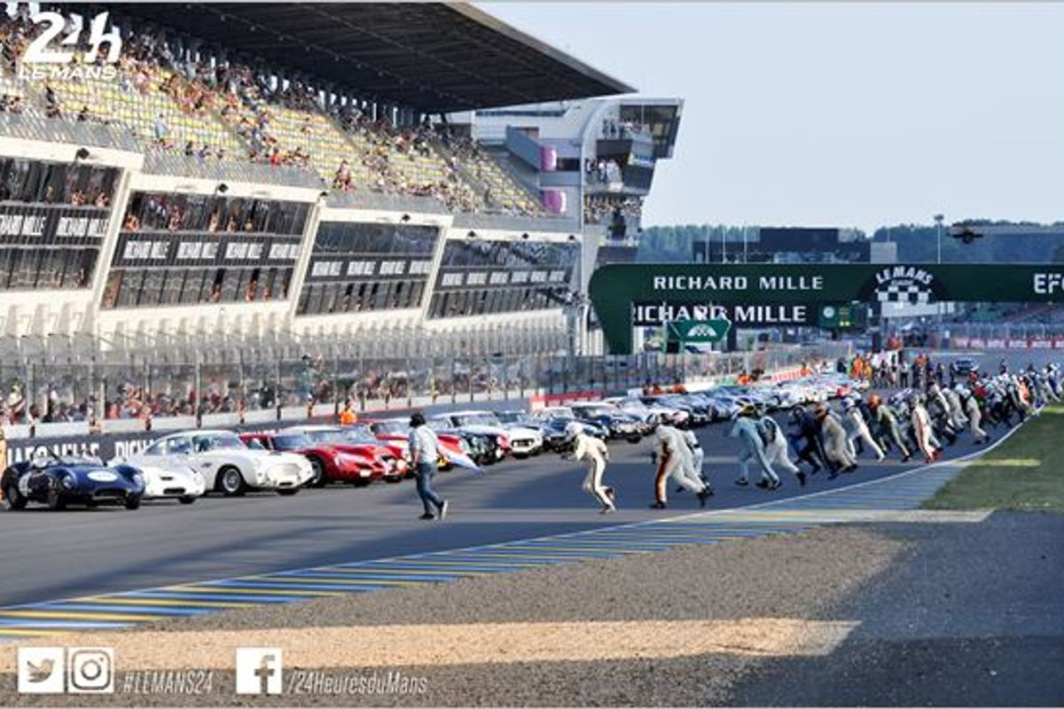 Record-breaking Le Mans Classic